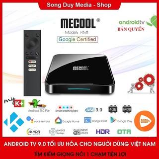 [CHÍNH HÃNG] Android TV Box Mecool KM1 | CPU S905X3 | Ram 4GB DDR4 | Bộ Nhớ Trong 64GB | Bản nâng cấp của Mecool KM3