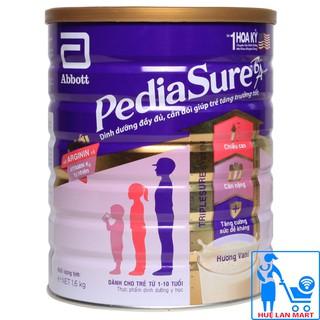 [MÃ FMCGLUX GIẢM 100% TỐI ĐA 120K ĐƠN TỪ 1500K] [CHÍNH HÃNG] Sữa Bột Abbott PediaSure BA Hương Vani Hộp 1,6kg