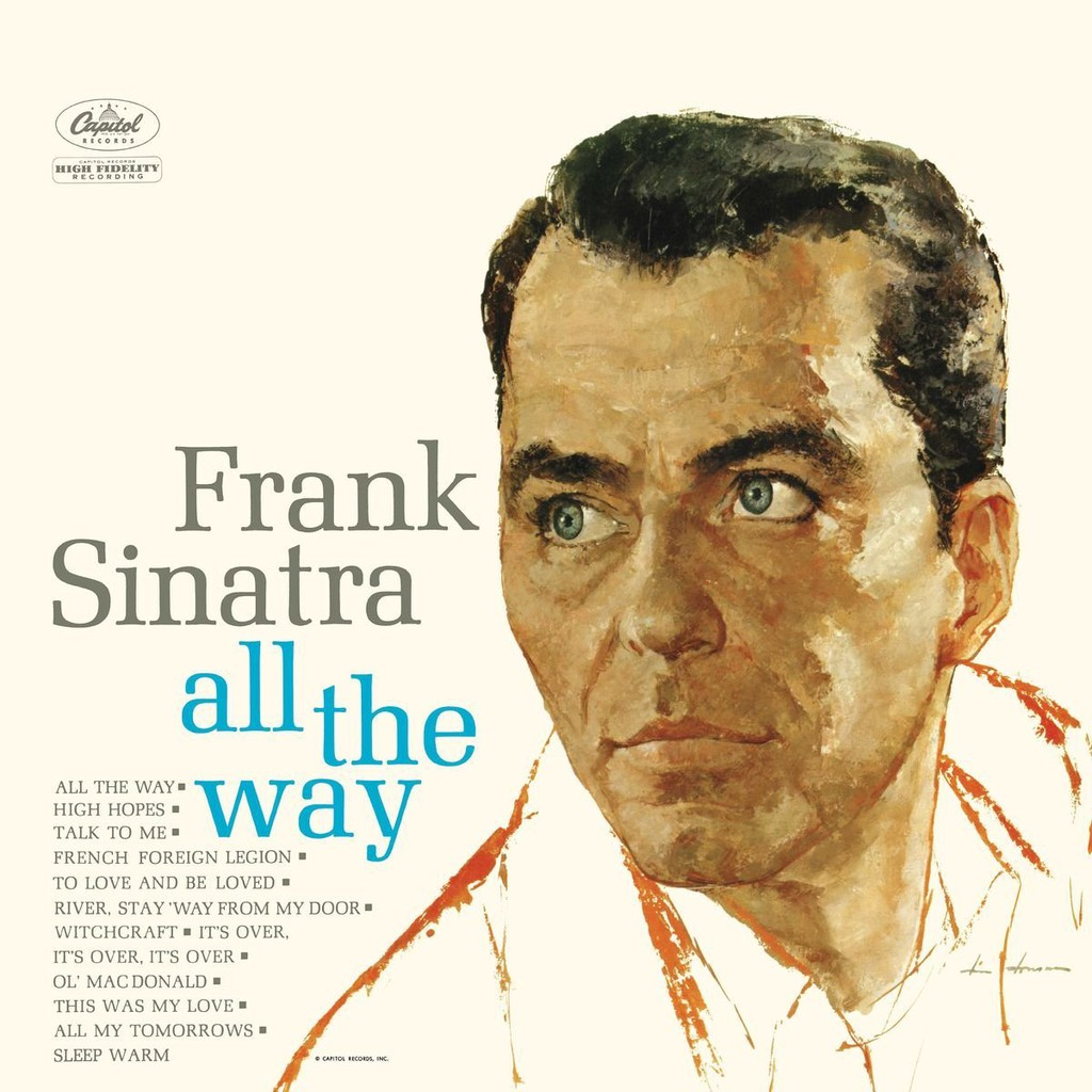 Frank Sinatra - All The Way (Vinyl LP) - 3585956 , 1015757982 , 322_1015757982 , 730000 , Frank-Sinatra-All-The-Way-Vinyl-LP-322_1015757982 , shopee.vn , Frank Sinatra - All The Way (Vinyl LP)