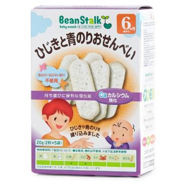 Bánh gạo rong biển Hijki và Aonori (Bean Stalk) 20gr - 3423075 , 1101056783 , 322_1101056783 , 89000 , Banh-gao-rong-bien-Hijki-va-Aonori-Bean-Stalk-20gr-322_1101056783 , shopee.vn , Bánh gạo rong biển Hijki và Aonori (Bean Stalk) 20gr