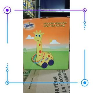 [Hết giá] Bộ đồ chơi vận động hươu ném vòng cao cổ Rẻ nhất luôn