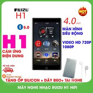 Máy nghe nhạc ruizu H1 hifi,bluetooth 5.0,8GB bộ nhớ trong,tặng ốp silicon và dây đeo,tai nghe thumbnail