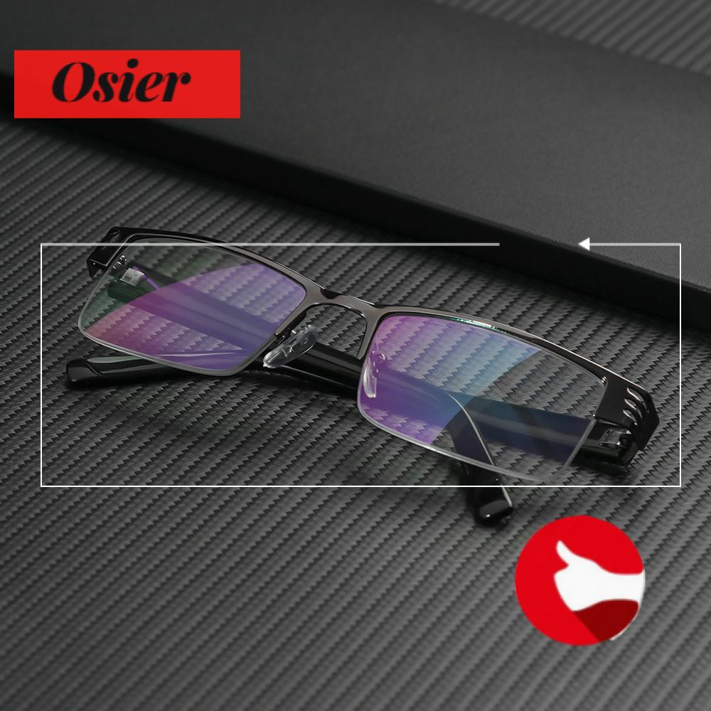👒OSIER🍂 Men Women Fashion Anti-blue Light Eyeglasses Radiation Protection Computer Goggles Presbyopic Eyewear Vision Care Ultralight Resin Retro Classic Reading Glasses