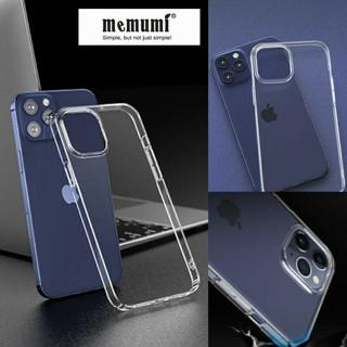 Ốp lưng Memumi Slim Desing iPhone 12 Mini, 12, 12 Pro, 12 Pro Max, 11, 11 Pro, 11 Pro Max / Xs MaxTrong cứng không ố màu