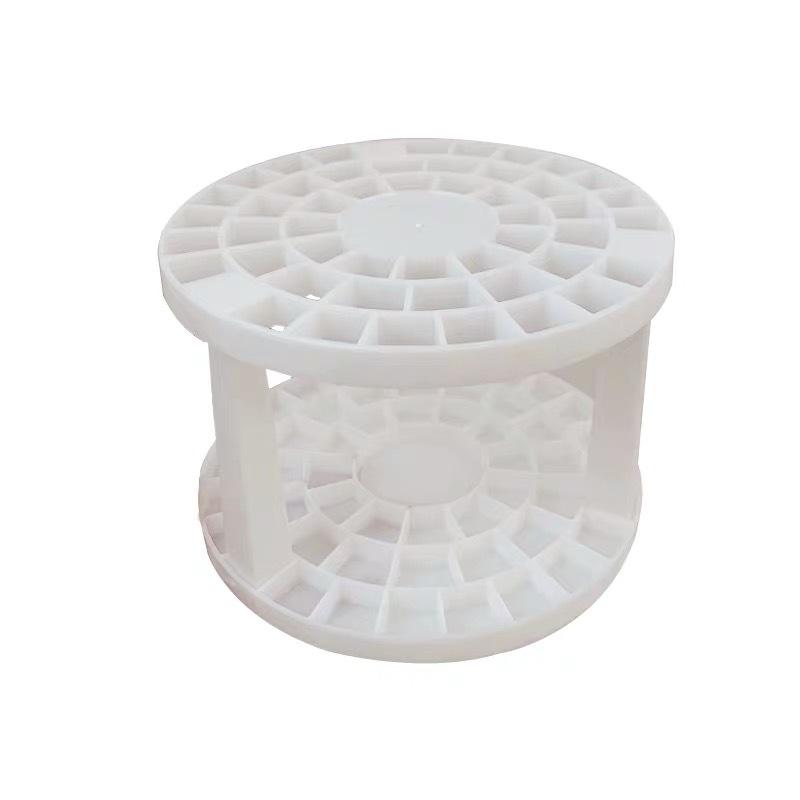 <24h Lô hàng> W&G Hộp đựng bút bằng nhựa đa chức năng đơn giản, hộp đựng bút hình tròn, Bút kẻ mắt để bàn, hộp đựng đồ trang điểm và xốp.