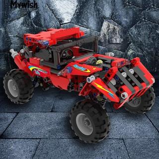 👶🏼Funny Building Bricks Enlighten Brick Toys Children Car Educational Blocks