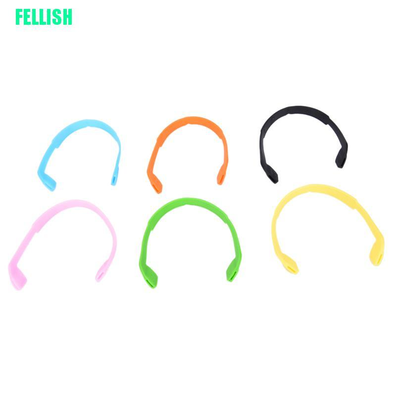 (FEL) Silicone Eyeglasses Glasses Sunglasses Strap Sports Band Cord Holder For Kids