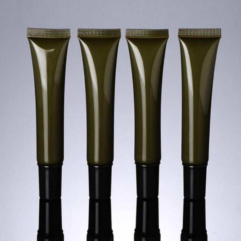 Tuýp (tube) nhựa chiết mỹ phẩm 20ml nâu / rêu - chai lọ mỹ phẩm