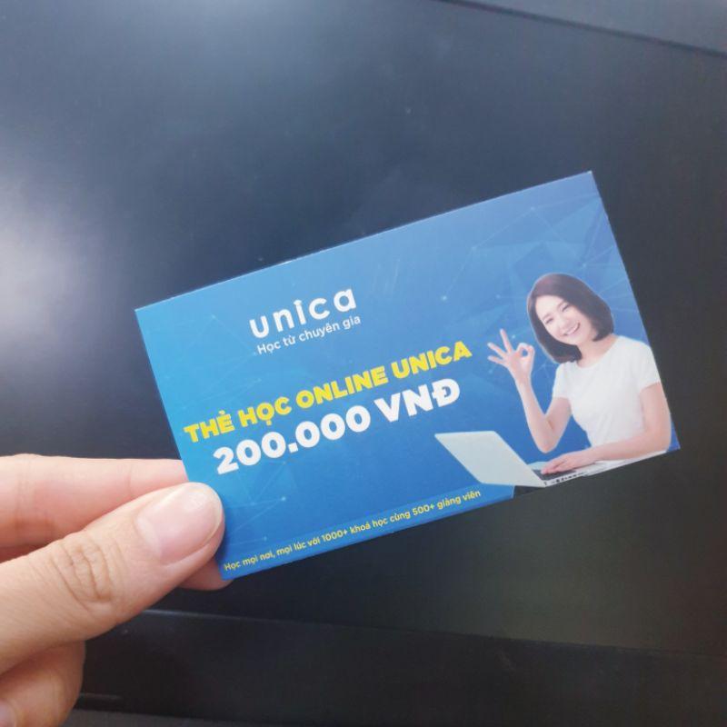 Toàn quốc [E-voucher]- Thẻ học đa năng Membership UNICA- Tự do học được 1.300 khóa học Online thỏa ý thích