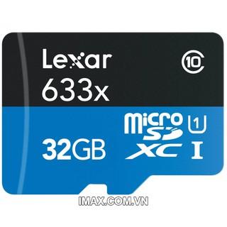 Thẻ nhớ microSDHC Lexar 633x C10,95MB/s 32GB