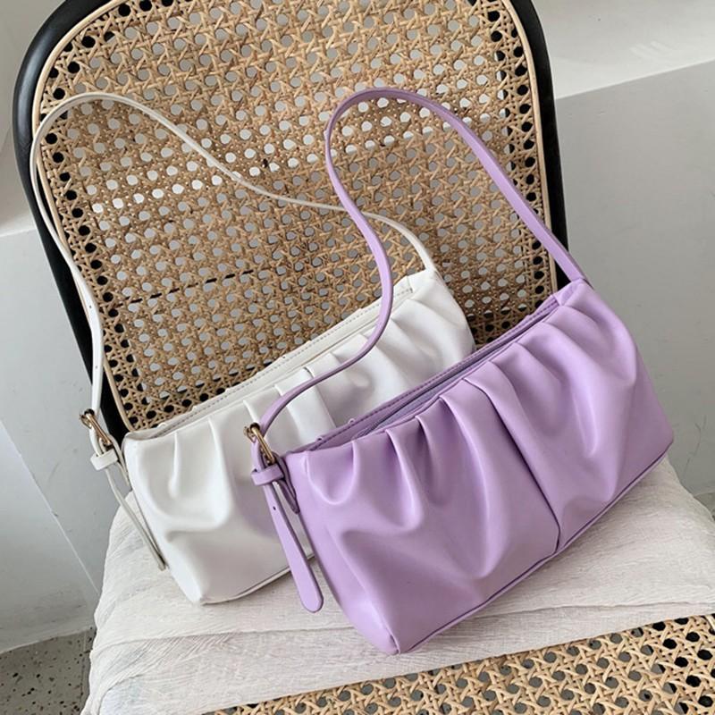 Túi đeo chéo vai trơn phong cách thời trang đơn giản