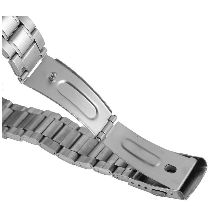 (Video và hình ảnh) - Đồng hồ cơ nam Winner H005M lộ máy (Dây da và dây kim loại)