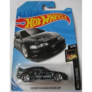 Xe mô hình Hot Wheels Custom '01 Acura Integra GSR FJX69