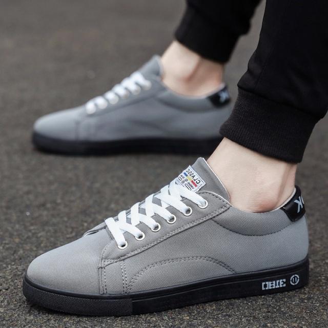 Giày Vải Sneaker nam phong cách Hàn Quốc TARANTO TRT-GTTN-36