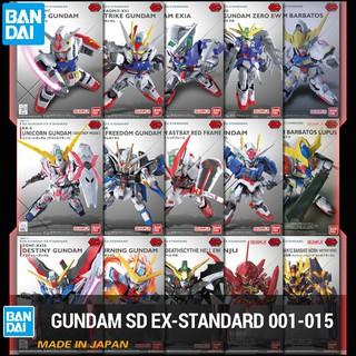 Đồ chơi Mô hình Gundam Bandai EX-Standard SDEX 001, 002, 003, 004, 005, 006, 007, 008, 009, 010, 011, 012, 013, 014, 015
