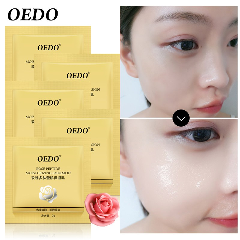 OEDO 5 cái Rose Trẻ Mãi Không Già Hyaluronic Acid Chống Winkles Chống Lão Hóa Nhũ Tương Chăm Sóc Da Mặt Kem Làm Trắng Da Điều Trị Chăm Sóc Da