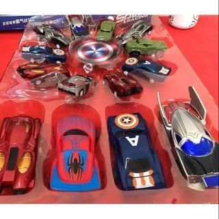 🚒 Set 10 xe sắt Avenger mô hình cho bé