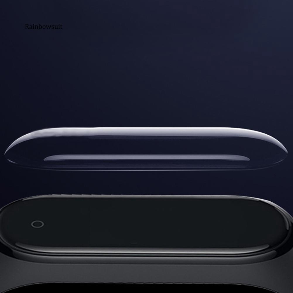 3 Miếng Dán Bảo Vệ Màn Hình Chống Trầy Cho Xiaomi Mi Band 4