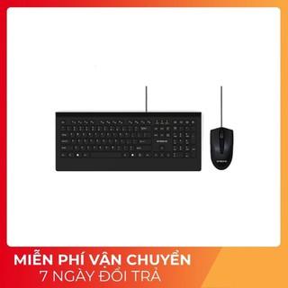Bộ bàn phím chuột văn phòng có dây Ensoho E109 màu đen - Hàng Chính Hãng thumbnail