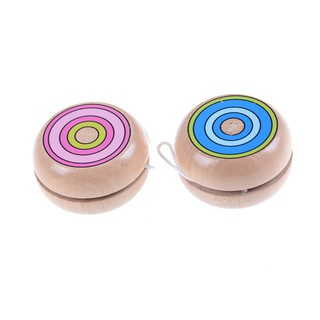 HEL❤ Wooden YOYO kids classic toys xmas gifts party favors kindergarten