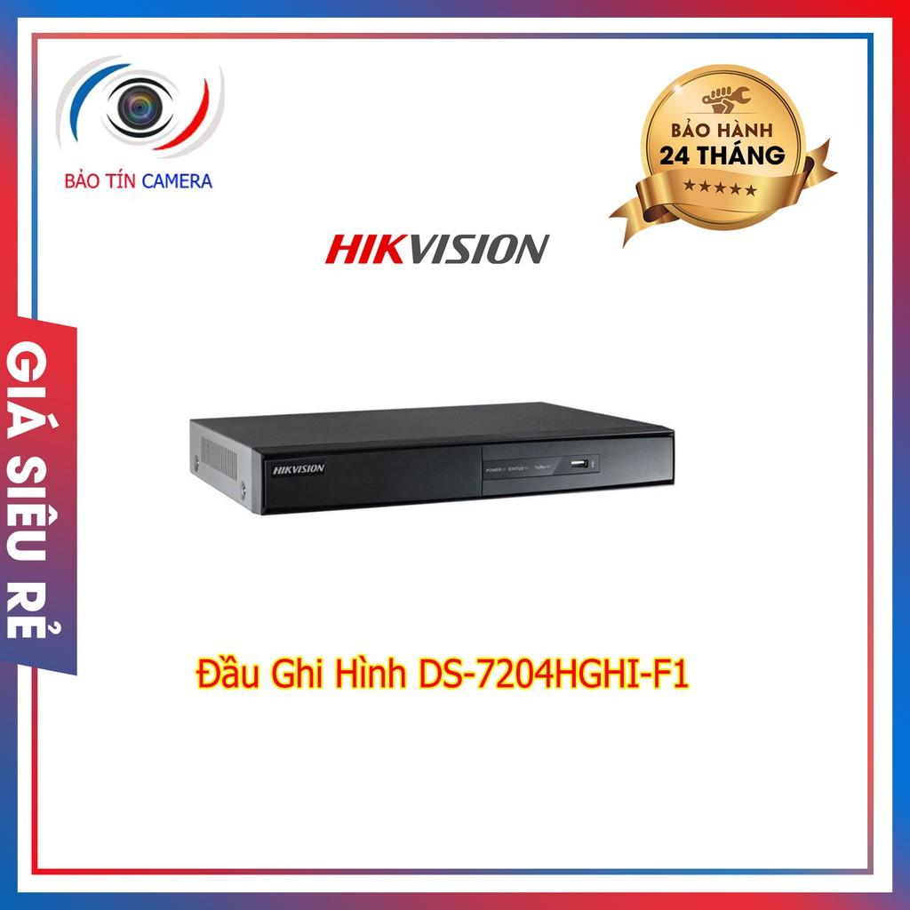 Đầu ghi hình DS-7208HGHI-F1/N chính hãng bảo hành 24 tháng