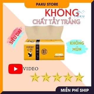 [KHÔNG CHẤT TẨY TRẮNG] Túi Khăn Giấy Ăn Gấu Trúc Sipao 300 tờ Siêu Dai thumbnail