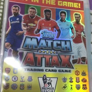 Bộ thẻ Match Attax 14/15 trọn bộ siêu hiếm ( không bao gồm 3 tấm ảnh cuối )