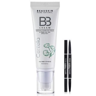 [MUA BB TẶNG CHÌ MÀY] Kem Lót Nền BB Cream Mỏng Mịn Beauskin Hàn quốc 45ml tuýp TẶNG chì kẻ mày Beauskin 5g cây thumbnail