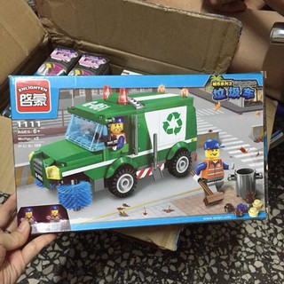 Lego Enlighten mô hình xe rác