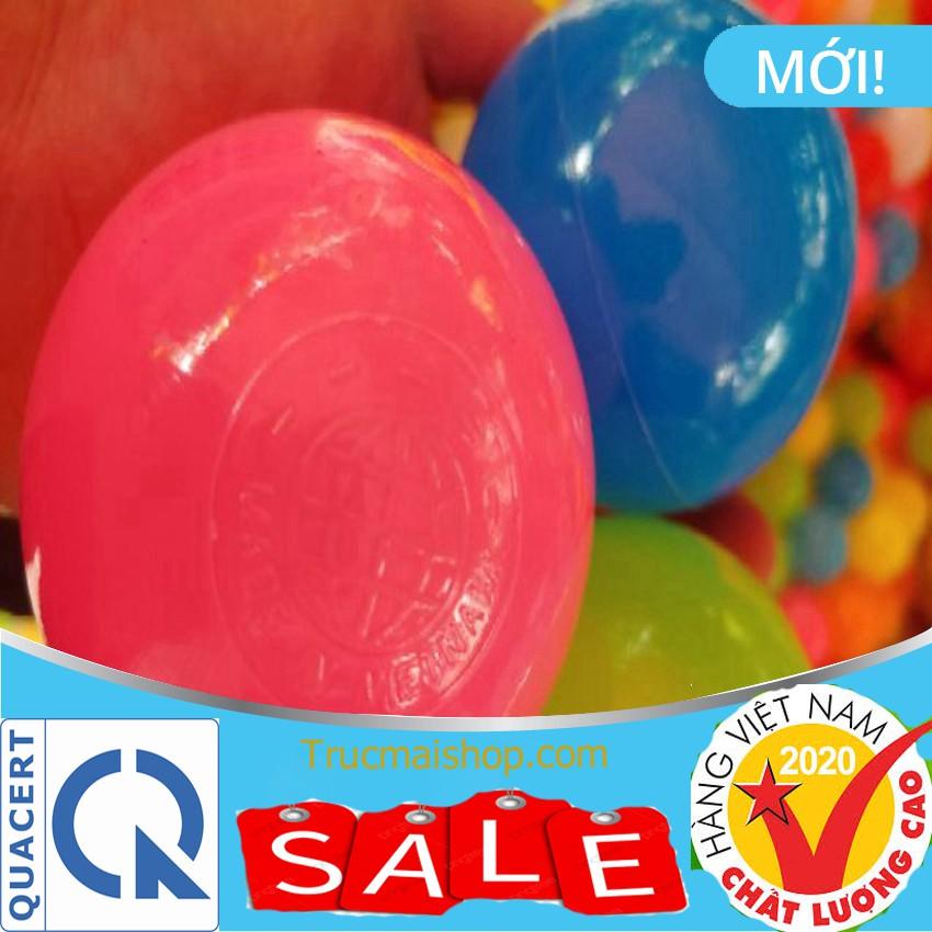 Túi 30 bóng nhựa 7.5 cm nhiều màu sắc cho bé thỏa sức vui chơi