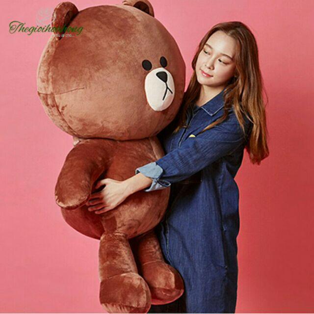 Gấu bông  brown khổ 1m2