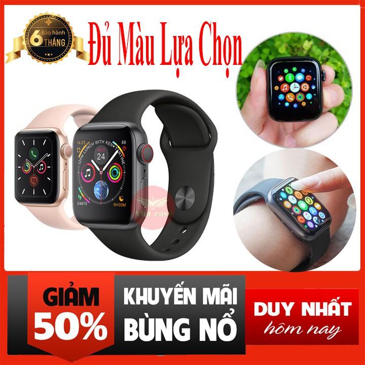 💥Bảo Hành 6 Tháng💥Đồng Hồ Thông Minh T500 Seri 5 Kết Nối Bluetooth 44mm Hỗ Trợ Đo Nhịp Tim (Có Tiếng Việt)