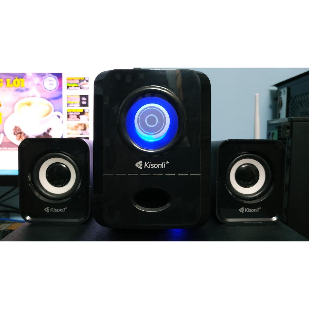 Loa máy tính 2.1 Kisonli U-2900 Âm thanh cực hay - New - Full Box - Chính Hãng - BH 12T
