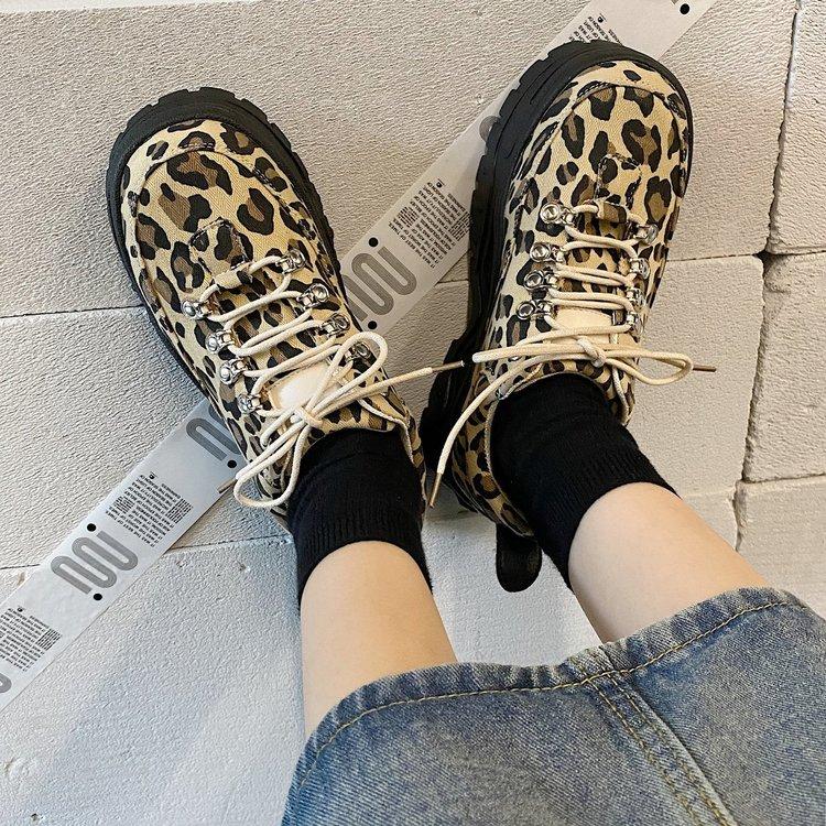 Giày Cao Gót Họa Tiết Da Báo Thời Trang Cá Tính Dành Cho Nữ
