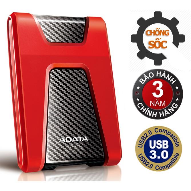 Ổ cứng di động 1TB 3.0 chống sốc ADATA HD650 (Đỏ) - 2756950 , 96165464 , 322_96165464 , 1449000 , O-cung-di-dong-1TB-3.0-chong-soc-ADATA-HD650-Do-322_96165464 , shopee.vn , Ổ cứng di động 1TB 3.0 chống sốc ADATA HD650 (Đỏ)