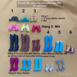 Búp bê Barbie: Giày Barbie, Xinyi, Blythe, MH