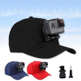Mũ lưỡi trai thể thao gắn được GOPRO, SJCAM Camera hành trình chất liệu cao cấp - POPO Sports