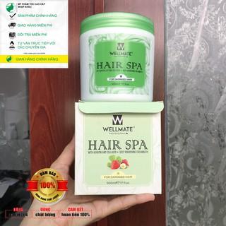 chính_hãng_100%_Hấp dầu siêu mượt WELLMATE Hair spa 500ml thumbnail