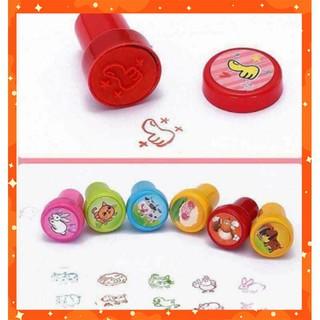 [XÃ LỖ NGHỈ DỊCH] Bộ đồ chơi con dấu cho bé đóng dấu hình ngộ nghĩnh