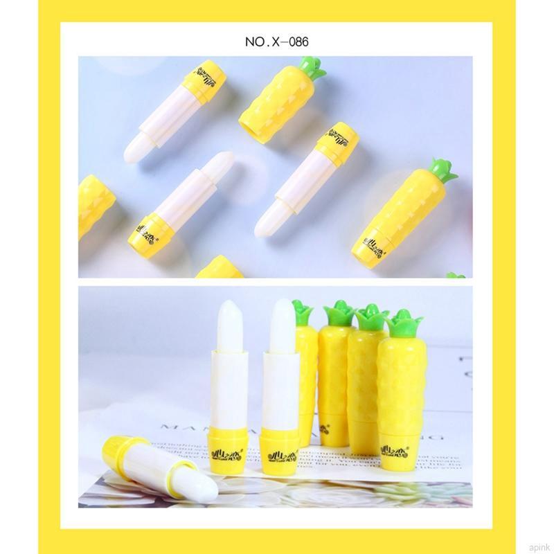 Son dưỡng môi chống khô làm mịn vân môi và sáng màu môi thiết kế hình trái dứa sáng tạo