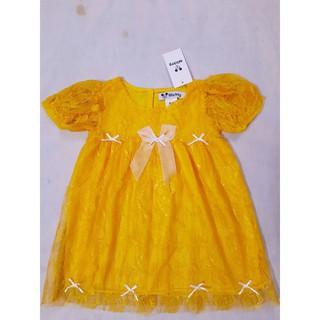 Sale Đầm ren đính nơ dễ thương cho bé
