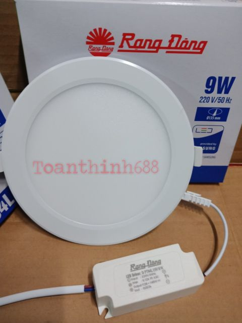 Đèn Led âm trần Rạng Đông (Chíp Led Hàn Quốc ) 12w-9w-6w sáng trắng
