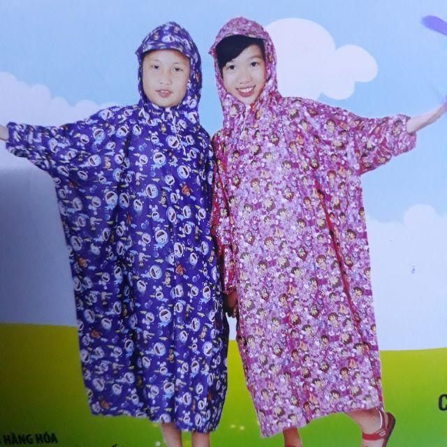 Áo mưa bít trẻ em đủ mẫu