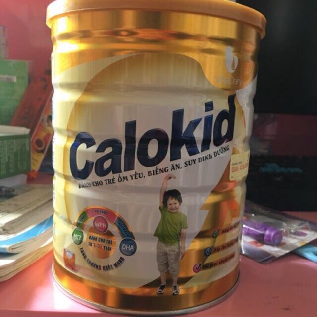 Calokid cho trẻ biếng ăn 1-10 tuổi 900g