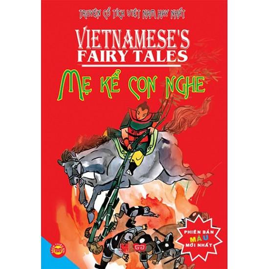 Sách - Truyện Cổ Tích Việt Nam Hay Nhất - Mẹ Kể Con Nghe - Phiên Bản Màu