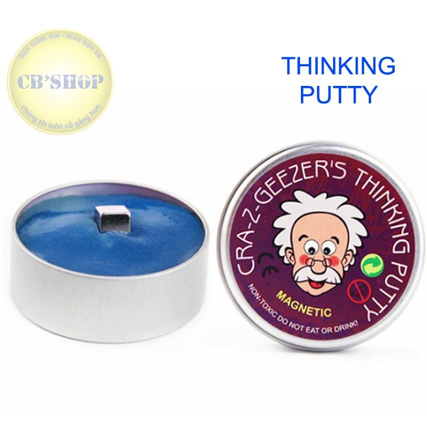 Đồ chơi biết suy nghĩ - nam châm dẻo Thinking Putty (Xanh)