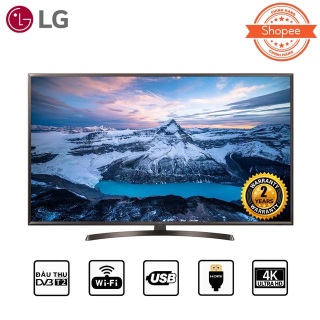 Smart Tivi LG 43 inch 4K UHD 43UK6340PTF (Có Magic Remote)