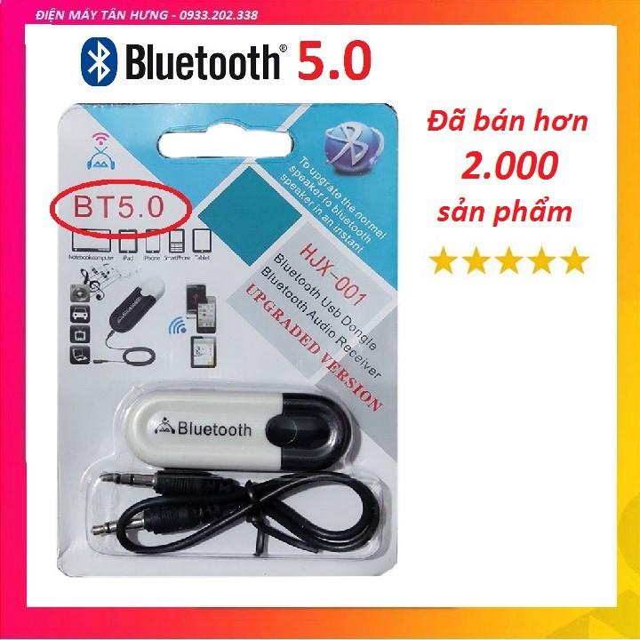 USB Bluetooth DONGLE 5.0 HJX 001 loại 1 không nhiễu - dùng cho loa, amply, mixer, equalizer