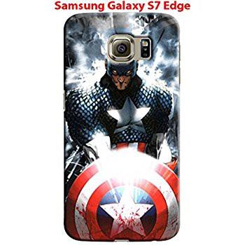 Ốp lưng Galaxy S7 Edge in theo yêu cầu mặt lưng trong viền đen