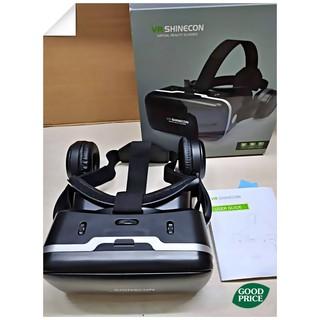 [Mã ELMSBC giảm 8% đơn 300k] Kính thực tế ảo chơi game 3D Vr Shinecon 04e kèm headphone